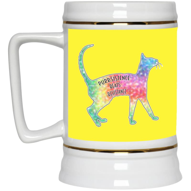 products/purr-sistance-22217-beer-stein-22oz-yellow-one-size-drinkware-housewares-mug-catrescue_340.jpg