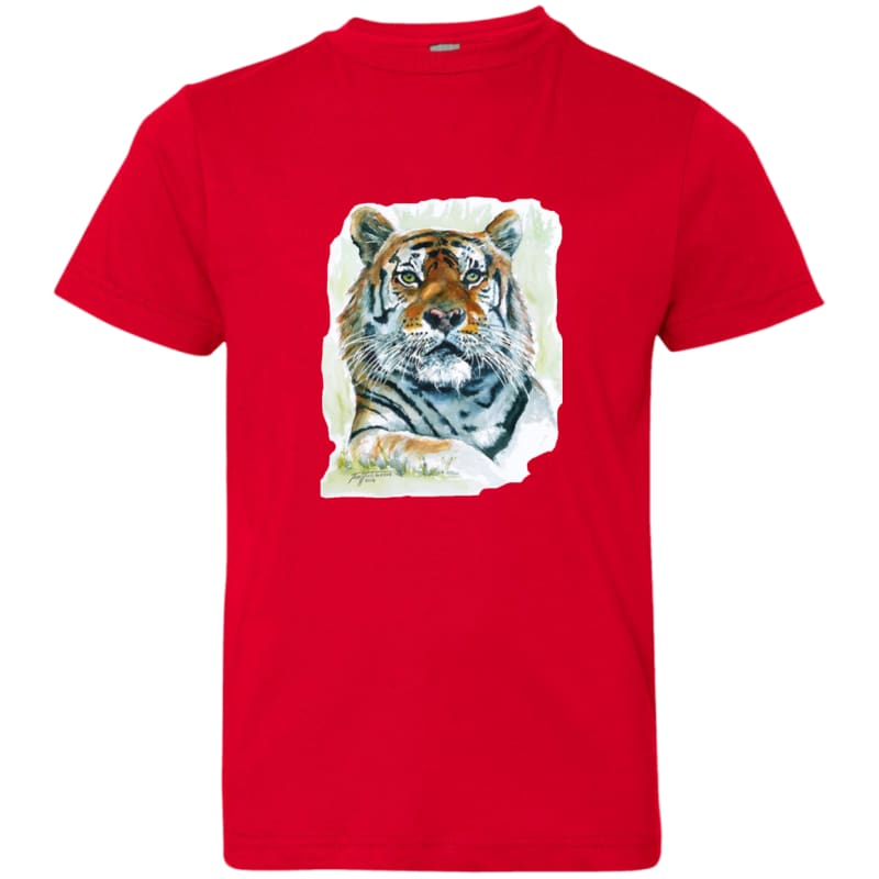 products/stoic-tiger-watercolor-art-6101-lat-youth-jersey-t-shirt-red-yxs-clothing-kids-tee-shirts-catrescue_625.jpg