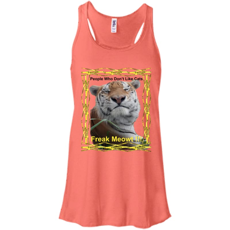 products/tj-freak-meowt-bella-canvas-flowy-racerback-tank-coral-x-small-clothing-shirt-tiger-women-catrescue_886.jpg