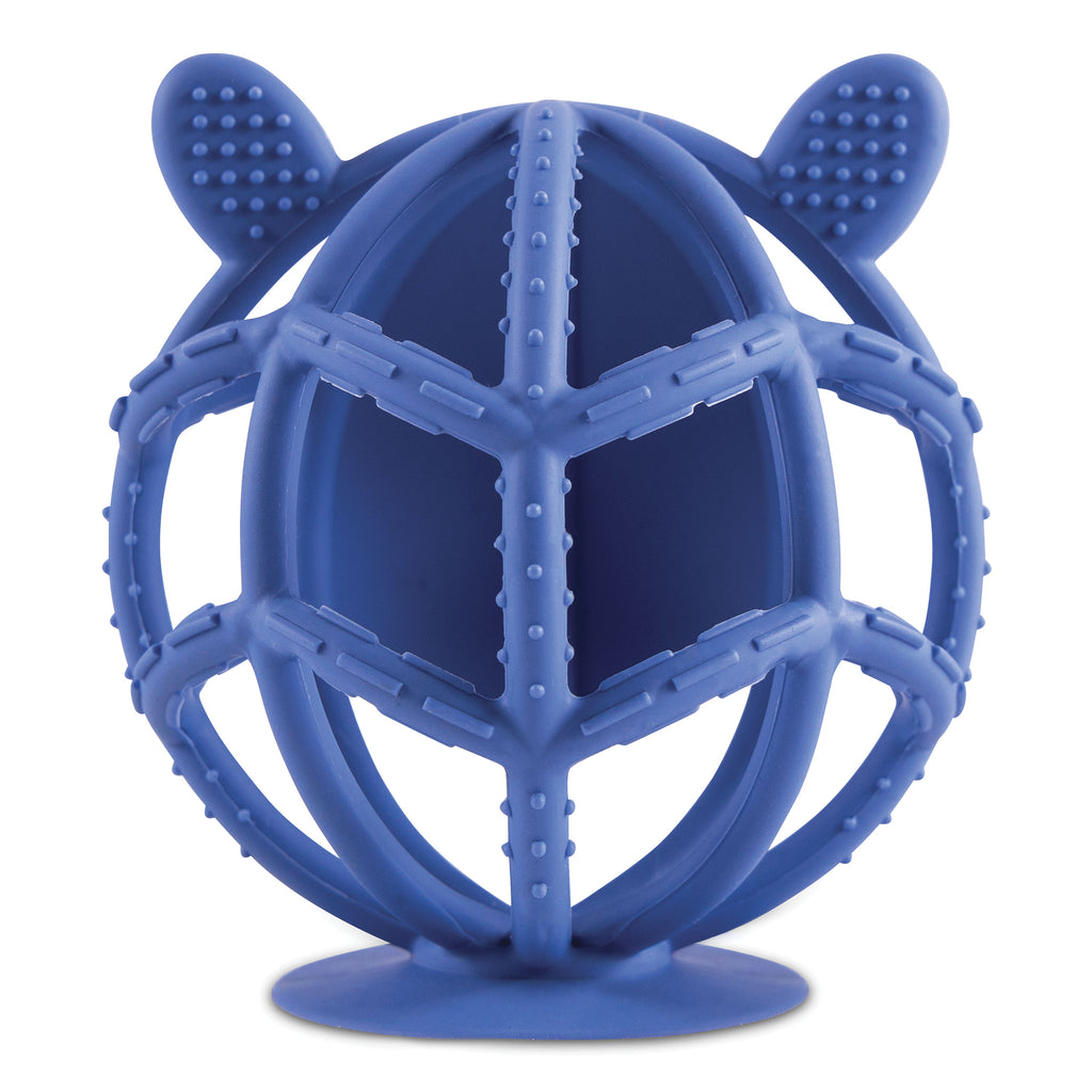 Bunny Silicone Teething Toy - Indigo