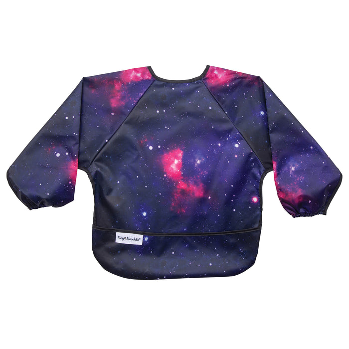 Mess-proof Full Sleeve Bib - Galaxy