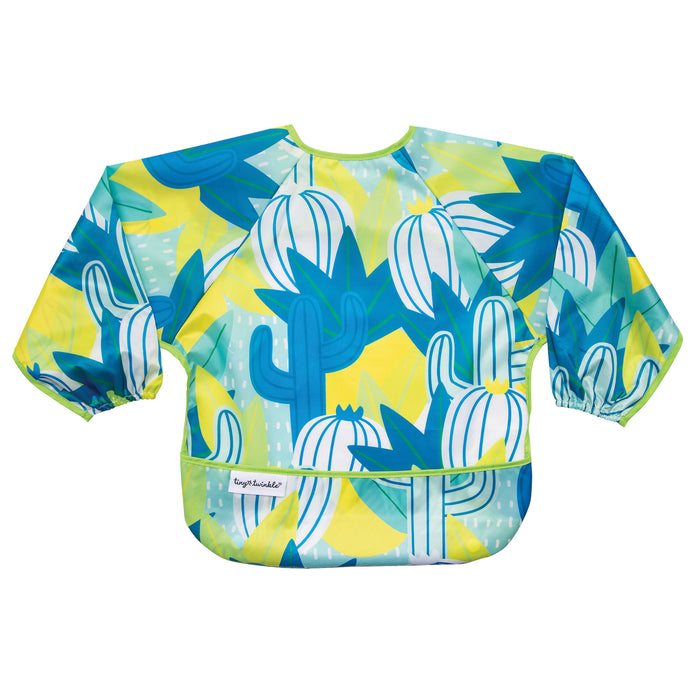 Mess-proof Full Sleeve Bib - Saguaro