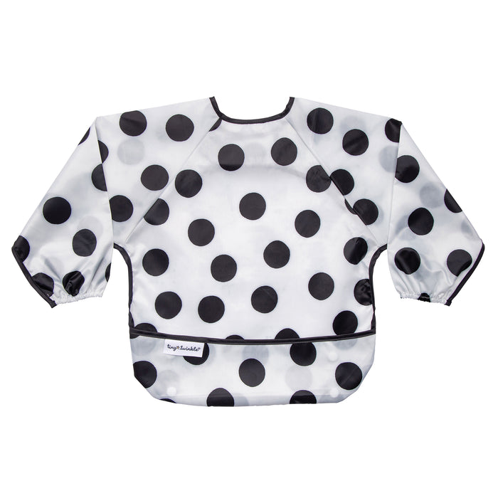 Mess-proof Full Sleeve Bib - Polka Dot