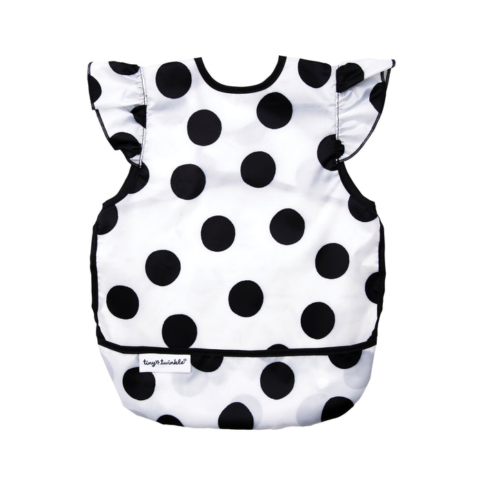 Mess-proof Apron Bib - Polka Dot