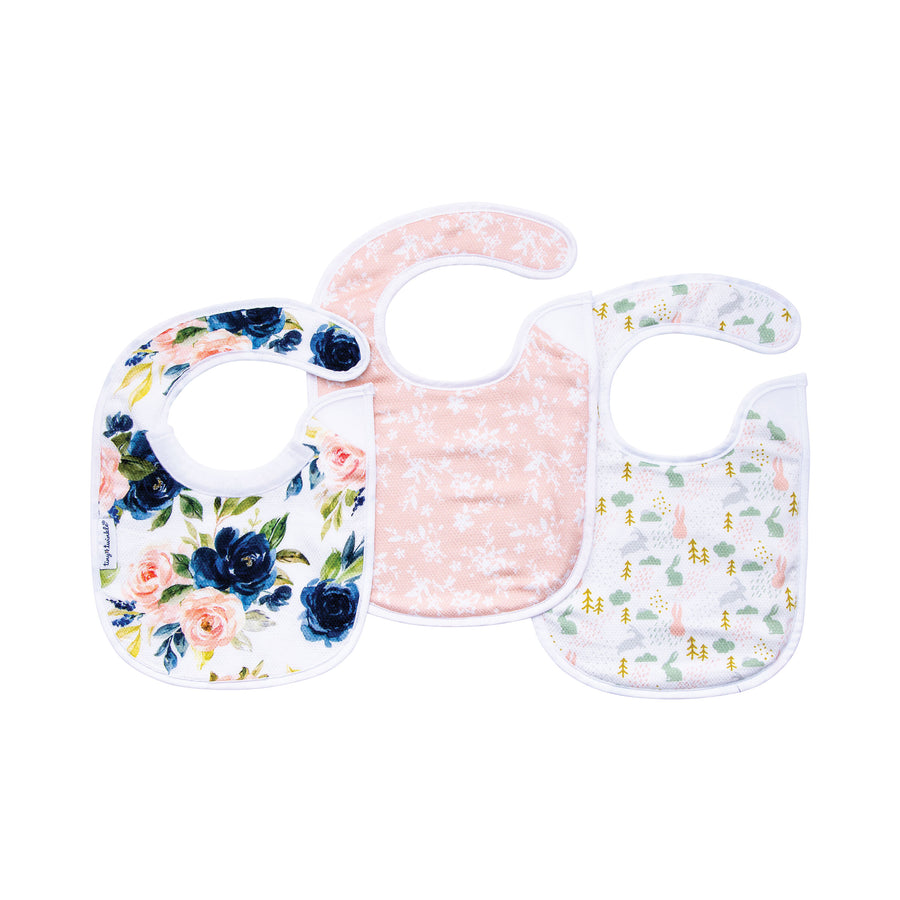 Feeder Bib - Blush Set of 3