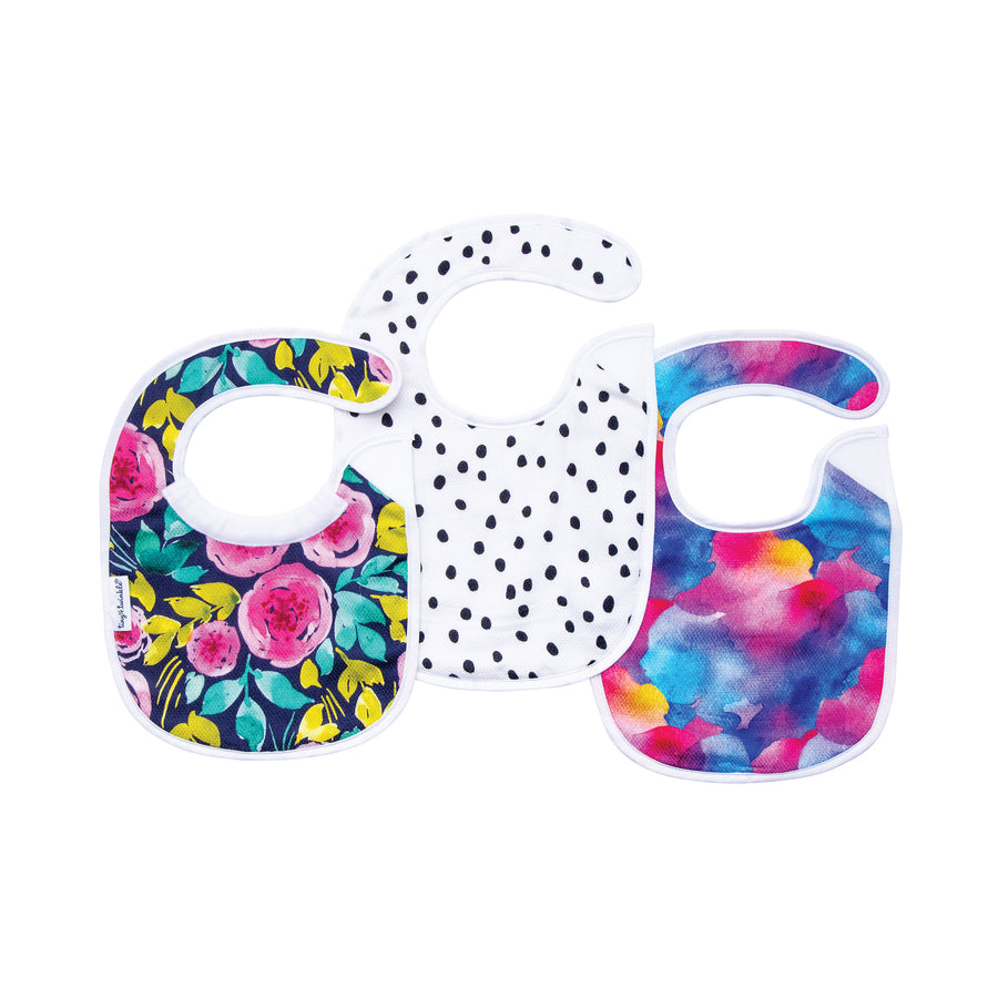 Feeder Bib - Painted Peony Set of 3