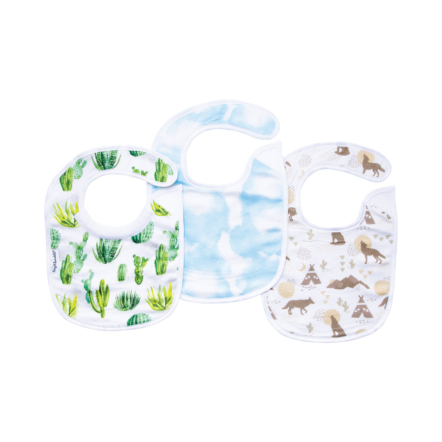 Feeder Bib - Cacti Set of 3