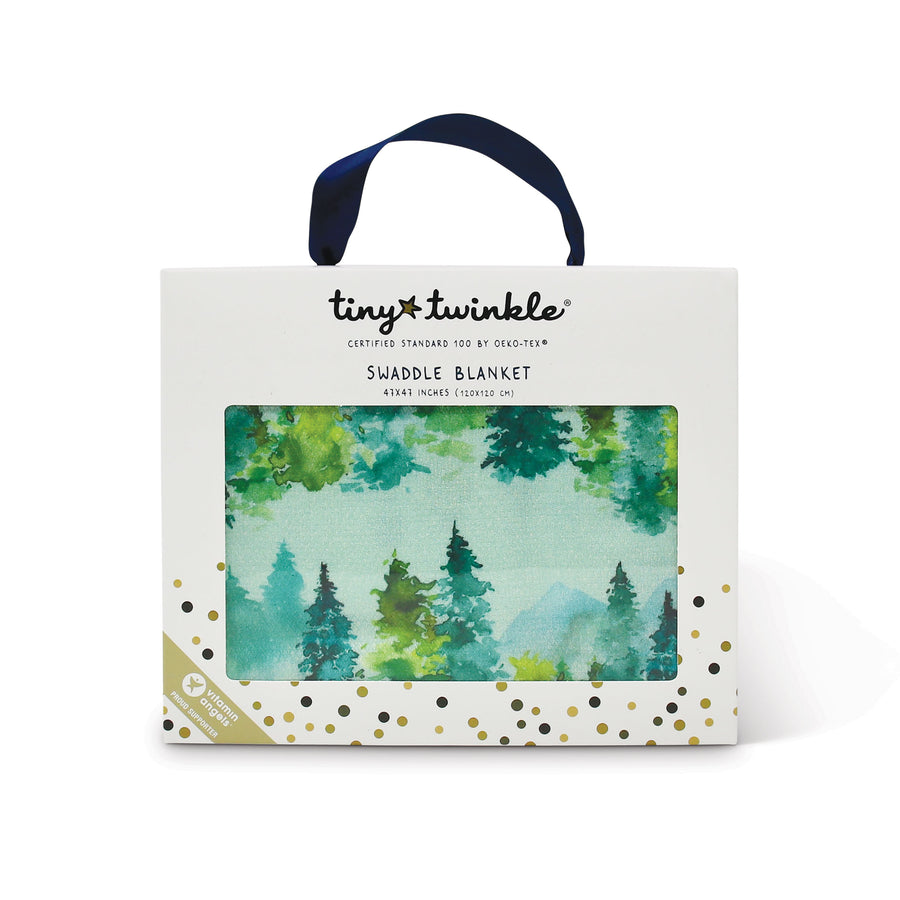 Kaffle® Swaddle Blanket - Forest