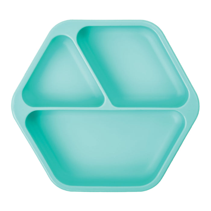 Silicone Suction Plate - Mint