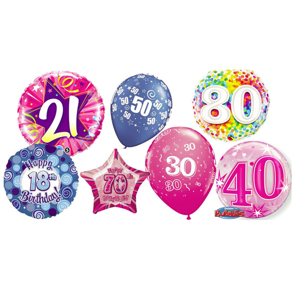 Age Balloons