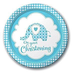 Sweet Baby Elephant Blue by Creative Party