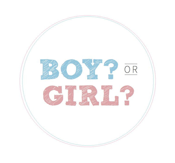 More Gender Reveal