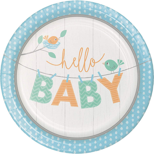 Hello Baby Boy by Creative Party