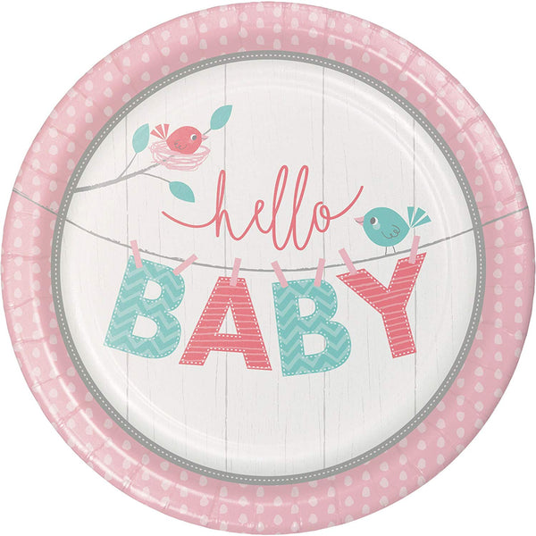 Hello Baby Girl by Creative Party