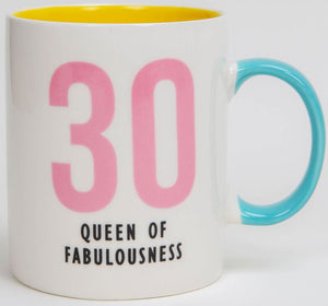 30 - Queen of Fabulousness Fine Bone China Mug