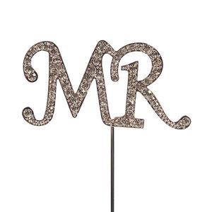 Diamante 'Mr'  Topper