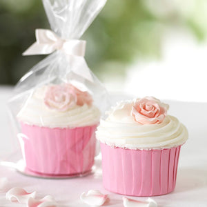 Clear Cupcake Bag - 12 piece