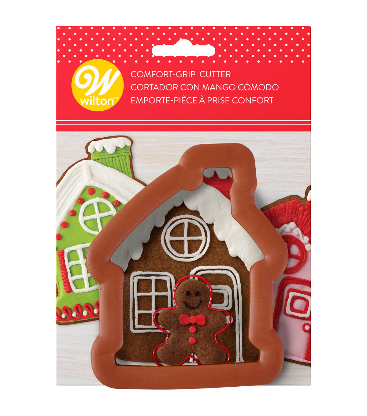 Wilton Comfort Grip Gingerbread House Mini Gingerbread Man Cookie Cutter