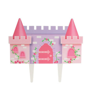 Princess Castle Cake Decoration - Gumpaste Pick - 145mm