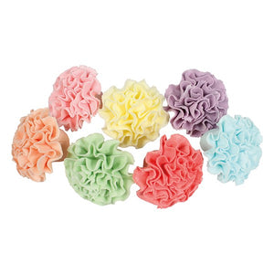 Assorted Sugar Carnations - 30mm - 35 Pack