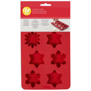 Christmas Snowflake Candy Mould - Wilton