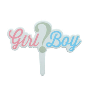 Girl or Boy Gumpaste Pick