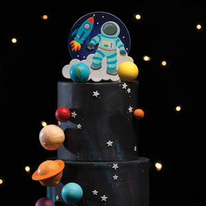 Spaceman Astronaut Cake Topper Decoration - 150 x 200m