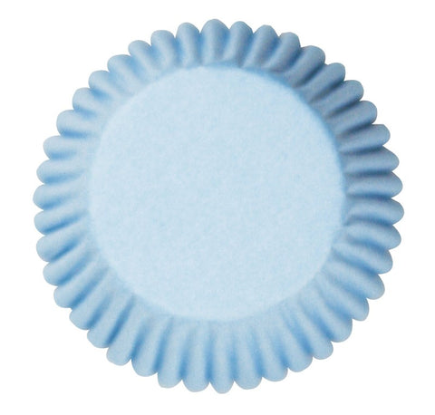 Pale Blue Baking Cases - Pack of 50