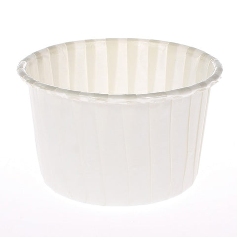 Ivory Baking Cups - Pack of 24