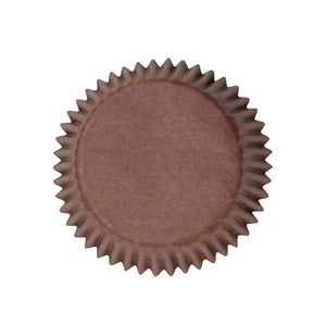 Brown Baking Cases - Bulk Pack of 250
