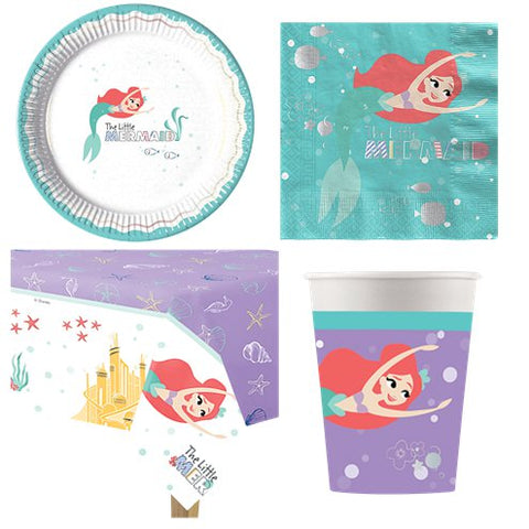 Ariel Under The Sea Party Pack - 8 Guests
