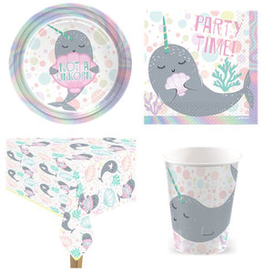 Narwhals Party - Party Pack - 8 Guests