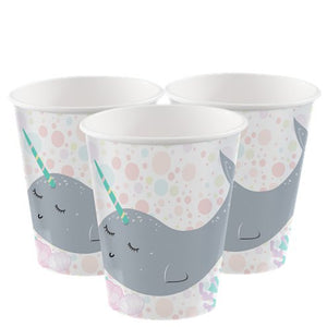Narwhal Party Cups - 8PK