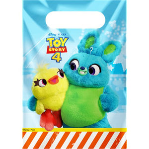 Toy Story 4 party Loot Treat bags - 6 Pack