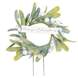 Christmas Mistletoe Cake Topper - Ginger Ray