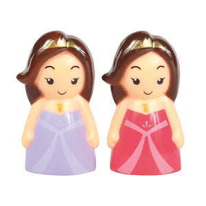 Princess Cake Topper Set - 2 Pack