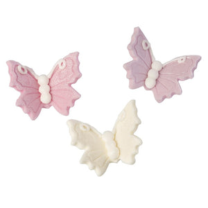 Lustre Sugar Butterflies - 18 Pack