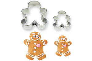PME Gingerbread Man Cookie Cutters Set of 2 sizes