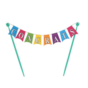 Congratulations  Cake Bunting