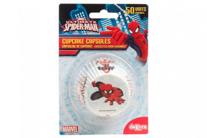 Spiderman Cupcake Cases - 50 per pack