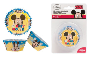 Disney Mickey Mouse  Cupcake Cases - 50 Pack