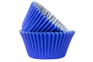 Blue Baking Cases - Pack of 50