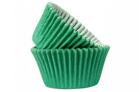 Dark Green Baking Cases - Pack of 50