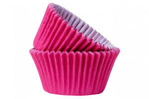 Hot Pink Baking Cases - Pack of 50