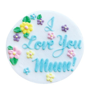 Mother's Day Mum Cake Decorations Cake Topper - 75mm