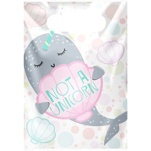 Narwhal Party Loot Bags - 8PK