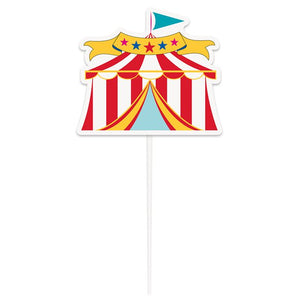 Circus Carnival Party Birthday Cake Topper