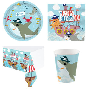 Ahoy Pirate  Birthday Party Pack - 8 Guests