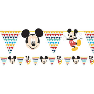 Disney Awesome Mickey Mouse Party Paper Garland - 2m