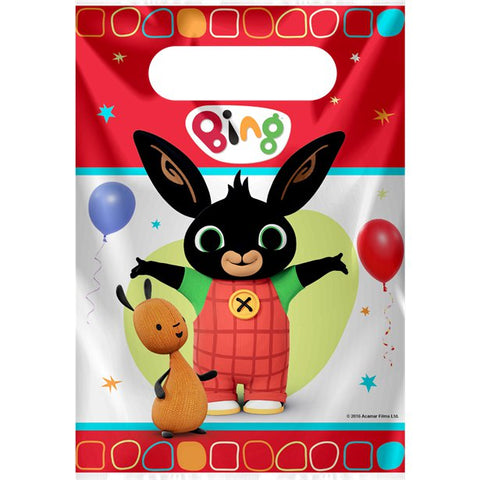 Bing Party Bags - Plastic Loot Bags